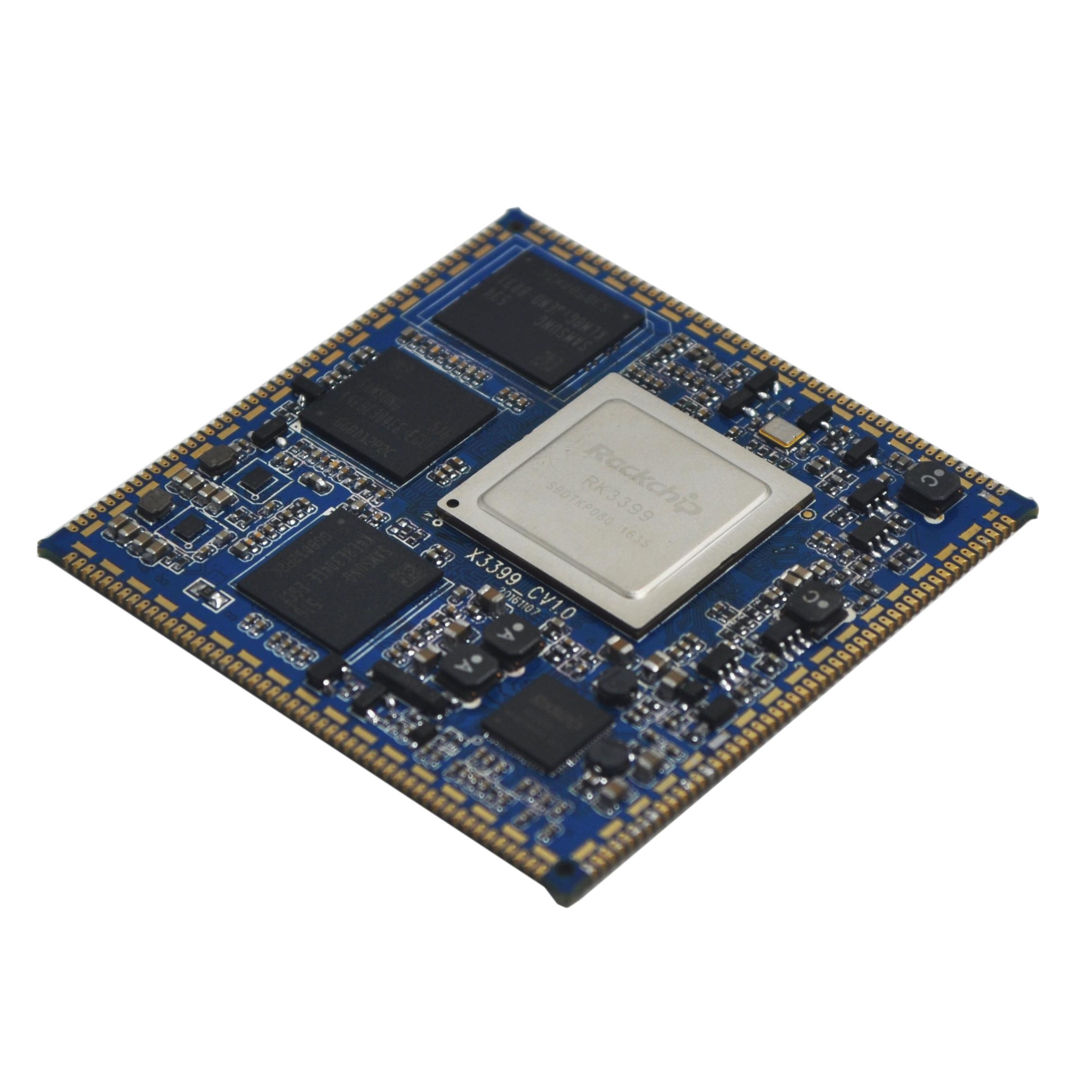 九鼎创展推出基于瑞芯微rk3399的核心板x3399